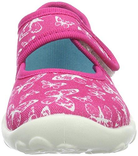 Superfit Bonny 000283, Mädchen Hausschuhe Pink (PINK KOMBI 64)
