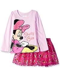 Girls' Minnie Mouse Skirt Set