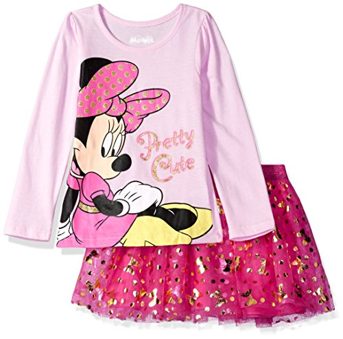 Disney Girls Minnie Mouse Skirt Set