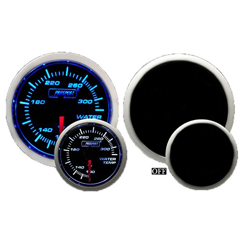 Water Temperature Gauge- Electrical Blue/white Performance Series 52mm (2 1/16