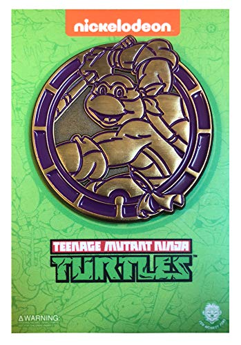 - NYCC 2018 Golden Donatello Emblem - LE TMNT Collectible Pin