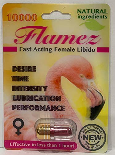 Flamez 10000 Fast Acting Female Libido Limited Edition (3) by Flamez (Image #1)