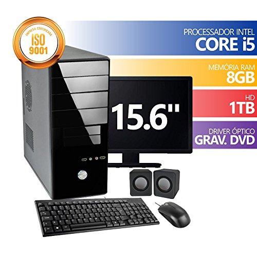COMPUTADOR INTEL CORE I5 8GB HD1TB DVD MON 15.6 KIT