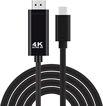 Cable Tipo C a HDMI 4K para Samsung Galaxy Note 10+ HDTV TV Digital AV