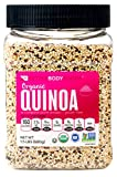 BetterBody Foods Organic Quinoa 1.5 Pounds, Organic Medley of White Red and Black Quinoa Grains, Contains All 9 Essential Amino Acids, Complete Plant Protein with 6g of Protein per Serving