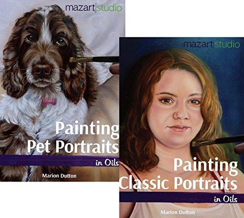 SPECIAL OFFER - Painting People Portraits in Oils & Painting Pet Portraits in Oils, Double Book Offer with Marion - Shopping Marion