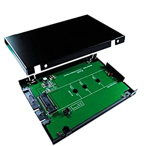 """ZTC Sky 2.5"""" Enclosure M.2 (NGFF) SSD to SATA III Board Adapter. Multi Size Fit with High Speed 6.0GB/s. Model ZTC-EN006"""