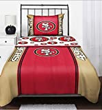 NFL San Francisco 49ers Bedding Set, Twin