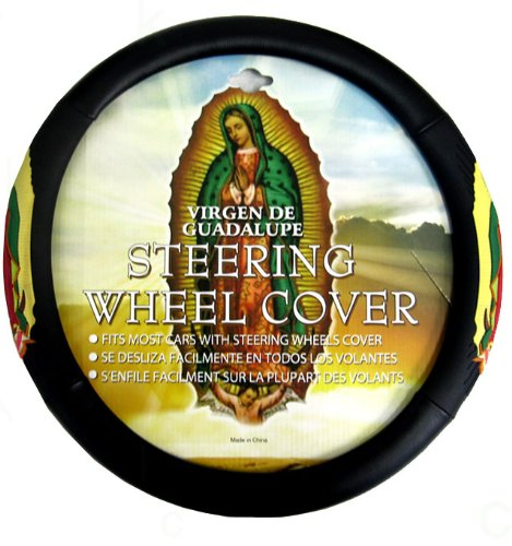 eering Wheel Cover with Embossed Design - Virgin of Guadalupe ()