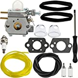Panari 751-14840 Carburetor with Air Filter Fuel Line for Cub Cadet CC212 CS202 Yard Machine Y25 Y60 Y2500 Y2550EC Y2700EC Y2900EC YM21CS YM71SS Trimmer Brushcutter