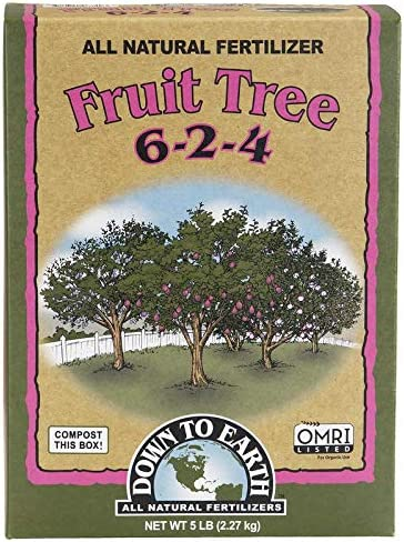 Down to Earth Organic Fruit Tree Fertilizer Mix