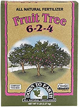 Down to Earth Mix 6-2-4 Organic Fertilizer For Fruit Trees