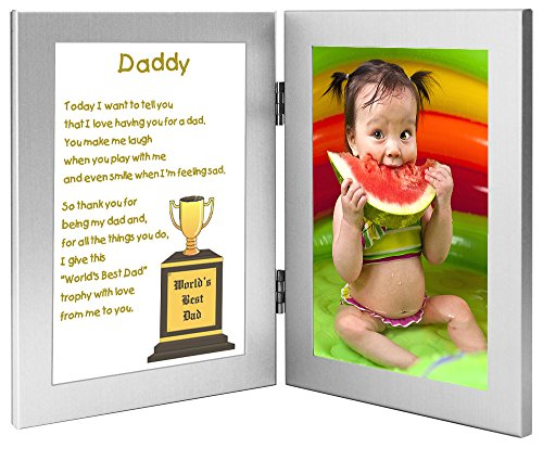 Gift for Daddy - World's Best Dad Poem From Daughter or S...