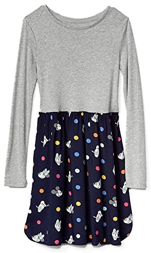 - GAP Kids Girls Disney Mix-Fabric Dress XL 12 Plus