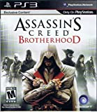 PS3 Assassin's Creed Brotherhood Game with Exclusive Content