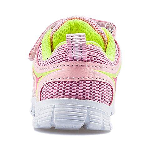 Outdoor Chaussure Gesimei De Fille Sport Respirant Enfant Chaussures Garçon Mode Baskets Multisports Rose Course f1fF8Bx