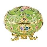 Design Toscano Renaissance Collection Romanov Style Enameled Egg: Couleur Verte