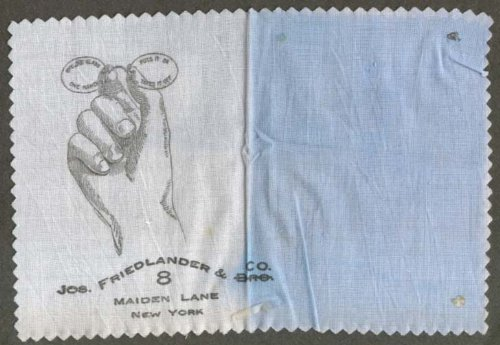 Jos Friedlander Maiden La NYC eyeglass cloth - Eyeglasses Nyc