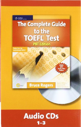 The Complete Guide to the TOEFL Test, PBT: Audio CD Pdf