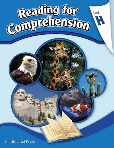 Reading Comprehension Workbook: Reading for Comprehension, Level H - 8th Grade