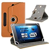 10 inch tablet covers - For 10 inch Android Tablet PC, Mchoice Fashion Universal Leather Flip Case Cover for 10 inch Android Tablet PC (Brown)