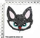 Black Cat Ghost Big Eyes Sequin Cartoon Chidren