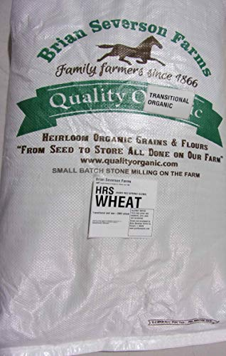 (Hard Red Spring Wheat berries | GLENN variety | 15 lbs. | Farmer Direct | non-GMO and IP)