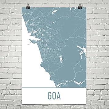 Amazon goa map goa art goa print goa india poster goa goa map goa art goa print goa india poster goa gifts gumiabroncs Image collections