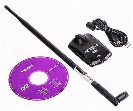 ADAPTADOR WIFI USB KASENS G5000 2000mW + ANTENA 10dBi