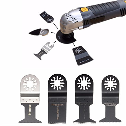 Amazon com : 24pcs Oscillating Multitool Saw Blades Set for