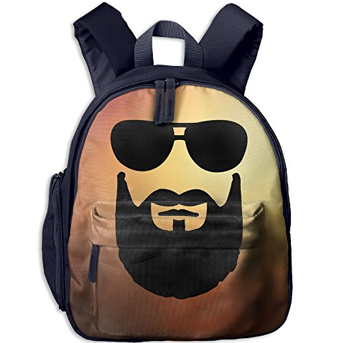 Small School Bags Make Your Own With Cool Beard Sunglasses For Kindergarten Unisex Children - 4 Fallout Sunglasses