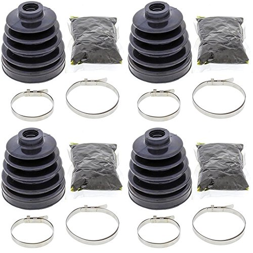 Complete Rear Inner & Outer CV Boot Repair Kit for Polaris Sportsman 700 4x4 2002-2004 All Balls by All Balls