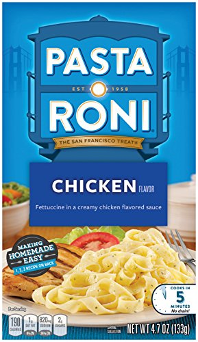 Pasta Roni Creamy Chicken Fettuccine Mix (Pack of 12 Boxes)