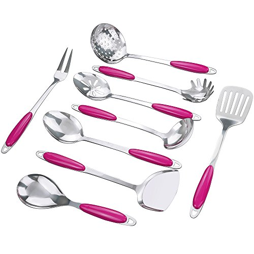 Anbers 9-Piece Kitchen Utensil Set - Stainless Steel Kitchen Tools Gadgets