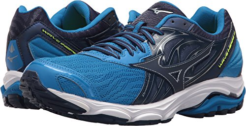 Mizuno Men's Wave Inspire 14 Running Shoe, Directoire Blue Depths, 10