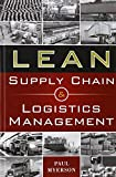 Lean Supply Chain and Logistics Management (Mechanical Engineering)