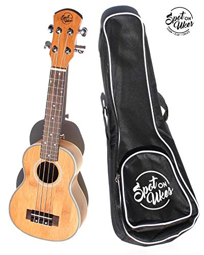Best Beginner Ukulele – Unique Built In Self-Teaching System. Official Spot On Ukes SOU-1. No Lessons needed. Beautiful…
