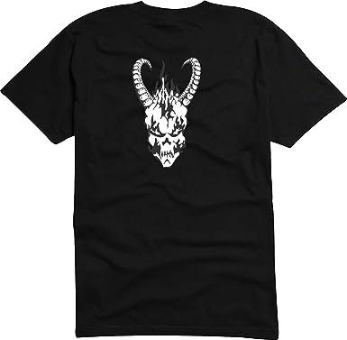 0d781a8c T-Shirt D547 Men's T-Shirt Black with Coloured Chest Motif – Capricorn  Design