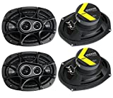 4) New Kicker 41DSC6934 D-Series 6x9' 720 Watt...