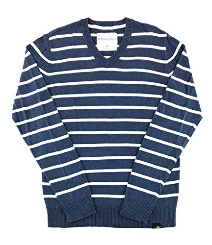 Aeropostale Mens Sweater Small Navy White 8527 from Aeropostale