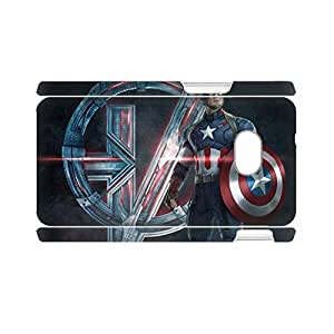 Generic For Womon Rigid Plastic Shells Protect Printing Avengers Age Of Ultron 2 For One Htc M7
