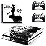 Junsi Kingdom Hearts Body Skin Sticker Decal for PS4 Playstation 4 Console+Controllers Review