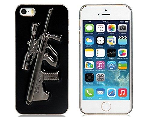 L&F Home - Metal Steyr AUG A1 Gun Design Plastic Case for iPhone 5
