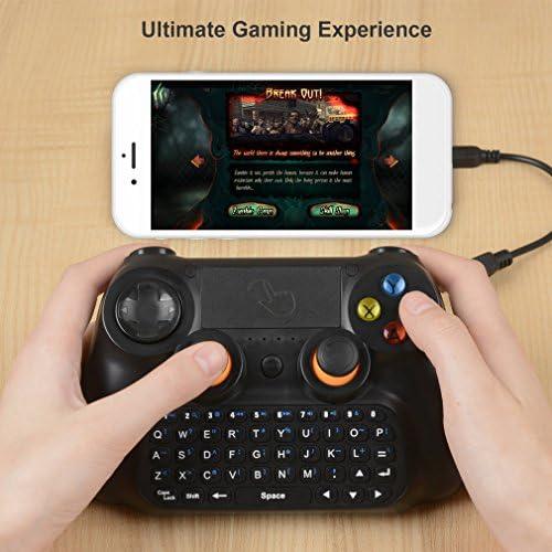 LESHP Gamepad Bluetooth Controlador Inalámbrico Consola ...