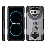Cheap TurtleArmor | Compatible for Samsung Galaxy Note 8 Case | N950 [Dynamic Shell] Hybrid Dual Layer Hard Shell Kickstand Silicone Case – Classic Game Controller