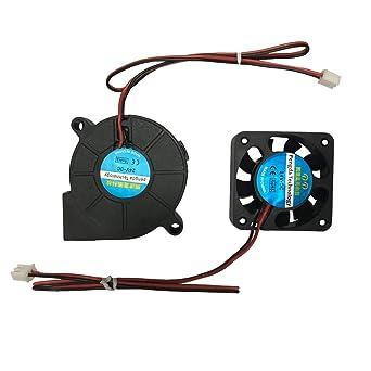 Impresora 3D Ventilador Ventilador Ventilador DC 24V 40x10 50x15 ...
