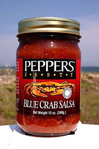 (Crab Salsa - Peppers Blue Crab Zesty - (3 Pack of 12 Oz Bottles))
