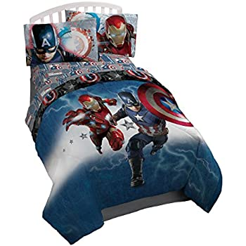 Marvel Captain America Civil War Twin Reversible Comforter