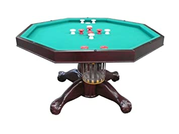 Amazon.com: Berner Billiards - Mesa 3 en 1, octogonal, 48.0 ...