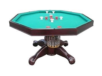 Amazon.com: Berner Billiards - Mesa 3 en 1, octogonal, 48.0 ...